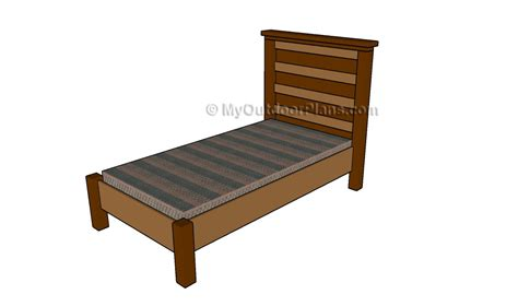 make a bed frame how to make a bed frame free outdoor plans diy shed wooden playhouse bbq woodworking projects
