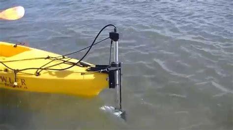 Electric Trolling Motor For Kayak by Kayak Motor Trolling Motor Flexi Fin