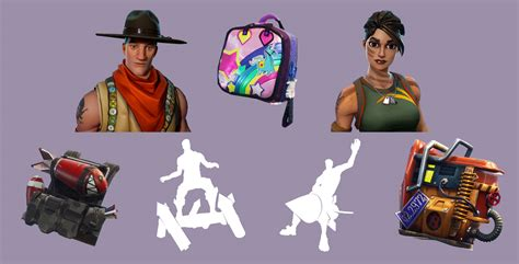 New Back Blings, Emotes & Outfits Coming Soon  Fortnite Intel