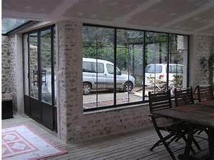 baie vitree cote fenetre pinterest With porte de garage coulissante jumelé avec ouverture de porte paris 7
