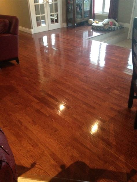 cleaning  preventing streaks  hardwood floors