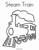 Train Steam Coloring Pages Outline Engine Drawing Template Simple Railroad Twistynoodle Noodle Crossing Colouring Trains Printable Templates Clipart Twisty Clipartpanda sketch template
