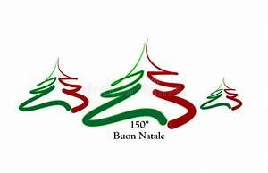 Weihnachten In Italien : frohe weihnachten italien vektor abbildung illustration von gr n 22141304 ~ Udekor.club Haus und Dekorationen