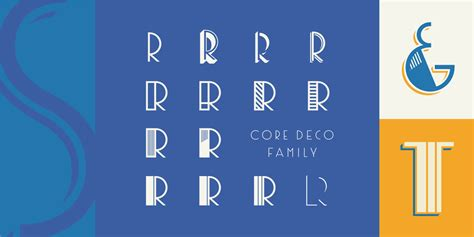 deko font core deco art deco fonts