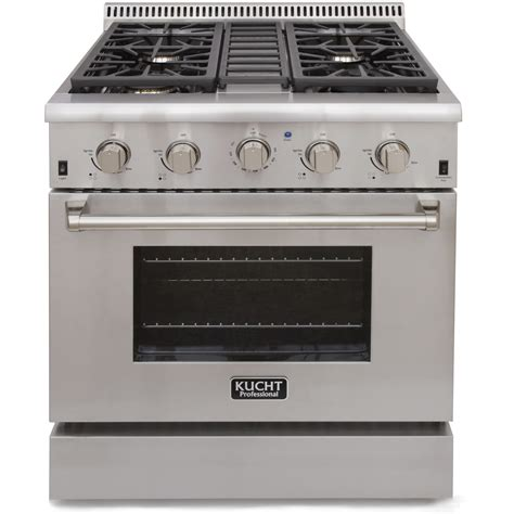 kucht 30 professional gas range krg3031u stainless steel convection oven all major appliances llc
