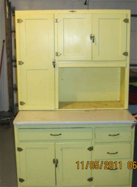 antique land dilks quaker maid kitchen cabinet