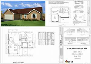 House And Cabin Plans  Plan  62 1330 Sq Ft Custom Home