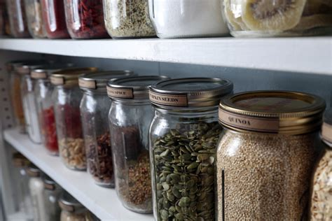 Pantry Organization with Mason Jars   Little House on Pine