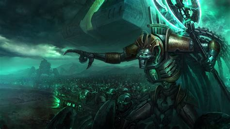 necron wallpapers gallery