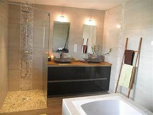 salle de bain douche a l39italienne am esquisse photo n56 With salle de bain moderne douche italienne