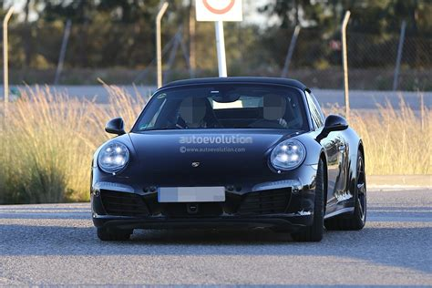 porsche 918 headlights porsche 911 targa facelift shows new headlights in latest