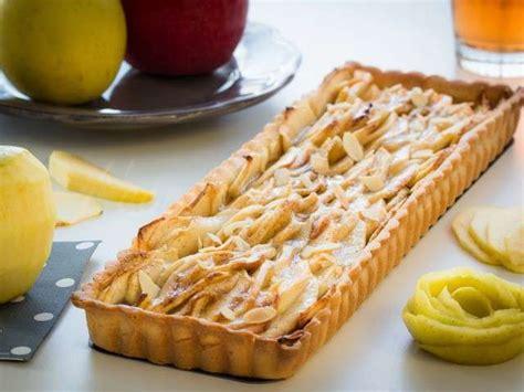 tarte aux pommes pate sablee compote recettes de tarte aux pommes et p 226 tes