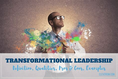 transformational leadership guide definition qualities