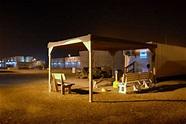 DaveGoesToAfrica: Camp Lemonier at night