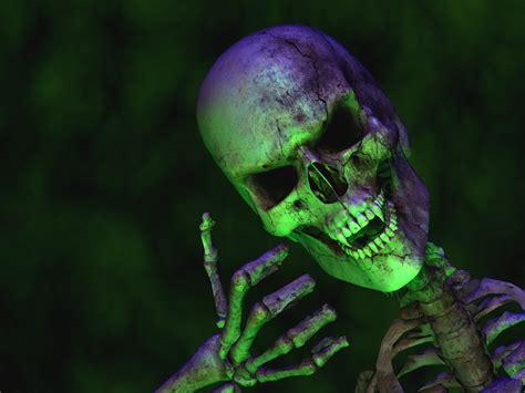 bureau tabac dimanche fond d écran hd squelette 3d ecran
