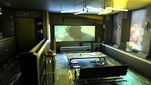 cyberpunk style interior by 100redeye on DeviantArt