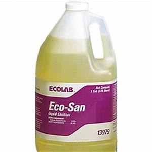 ecolabr eco sanr 4 1 gal pr paper supply co With ecolab msds