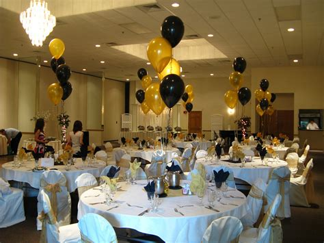 Graduation Table Decorations Uk by Black And Gold Decorations Favors Ideas