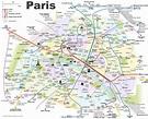 Paris Attractions Map PDF - FREE Printable Tourist Map ...