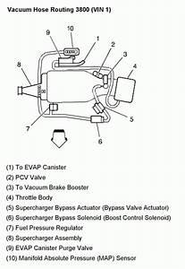 Chevrolet Monte Carlo  Vacuum Hose Diagram