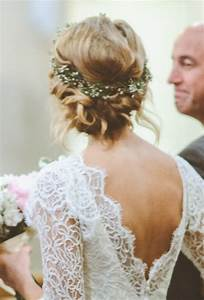 Twisted Low Bun with Flower Crown - A Twisted Low Bun ...