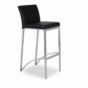 Un Dossier De Chaise : chaise haute de bar avec 4 pieds assise et dossier ~ Premium-room.com Idées de Décoration