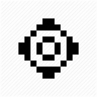 Gear Settings Icon Pixels Pixel Configuration Icons