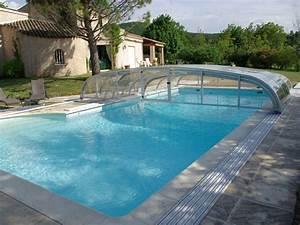 Piscine Soleil Service : abri de piscine t lescopique cintral ~ Dallasstarsshop.com Idées de Décoration