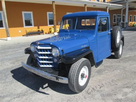jeep willys  classic pick  truck  standard gas classic jeep willys   sale