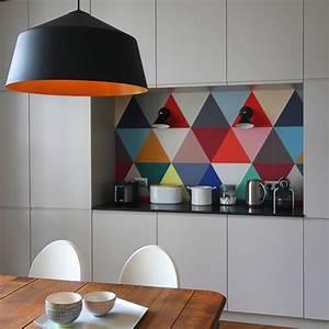 Tapisserie Pour Cuisine : cuisine o poser son papier peint pour un maximum d ~ Premium-room.com Idées de Décoration