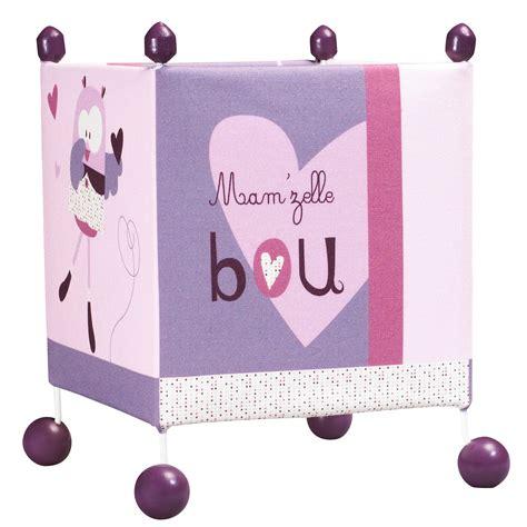 mam zelle bou le de chevet violet de sauthon baby d 233 co