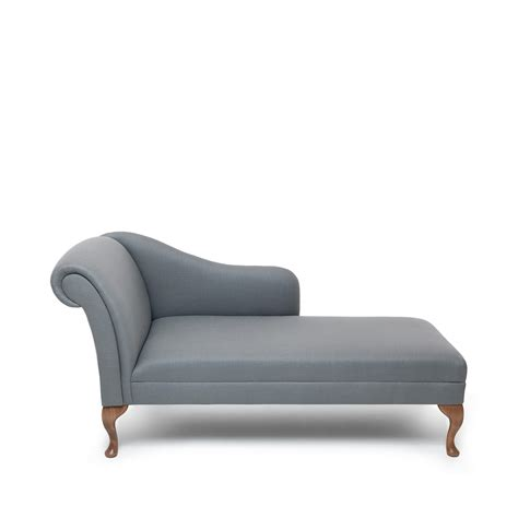 garbo linen chaise longue grey within home