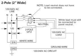 Siemens Amp Pole Volt Ground Fault Circuit