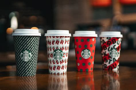 starbucks launches   cup designs   holidays