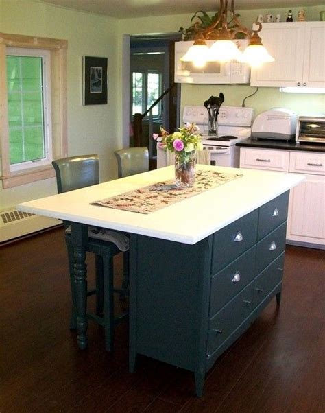 diy dresser into kitchen island diy kitchen island bench woodworking projects plans 8748