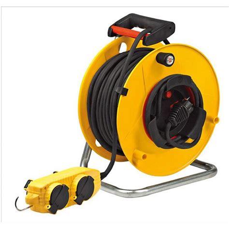 enrouleur cable electrique enrouleur de c 226 ble 233 lectrique chantier l 40 m brennenstuhl leroy merlin
