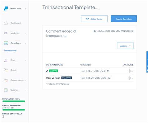sendgrid templates introducing sendgridforepi