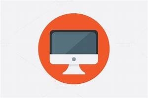 Check out Computer Vector Icon by DesignGodz on Creative ...