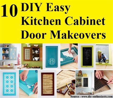 diy kitchen cabinet door makeover 10 diy easy kitchen cabinet door makeovers home and life