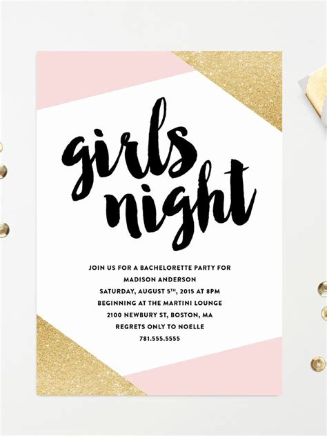 printable bachelorette party invitation templates