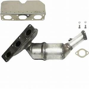 Catalytic Converter With Integrated Exhaust Manifold Fits