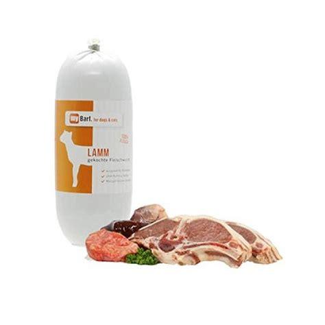 barf lamm gekochte fleischwurst snacks hund guenstig