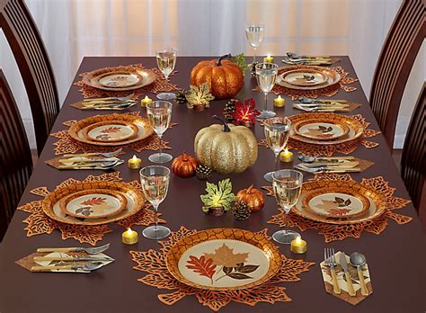 thanksgiving tablescape ideas thanksgiving shimmer tablescape ideas party city