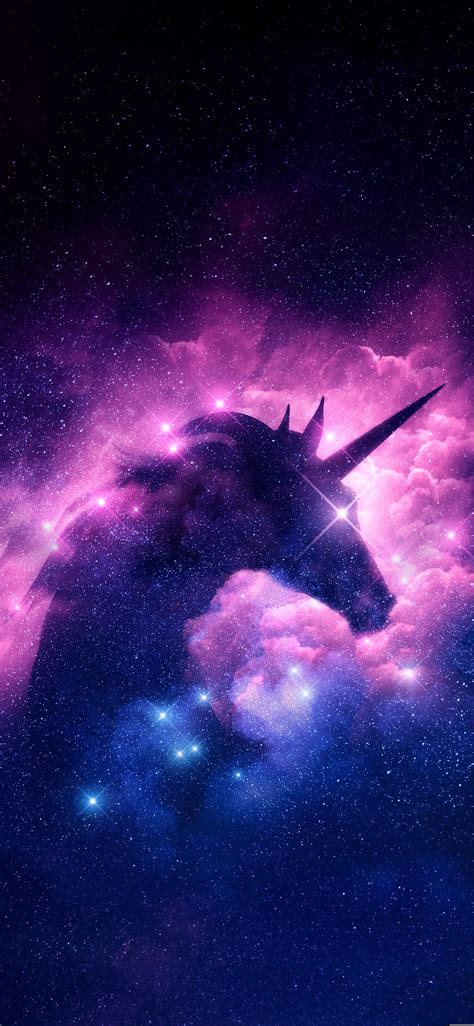 Galaxy Unicorn Neon Wallpaper by Wallpaper Unicorn Galaxy Impremedia Net