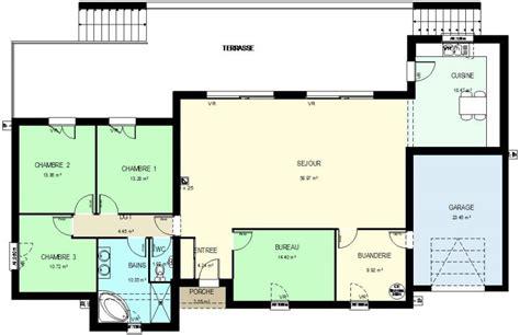 plan maison moderne 5 chambres construction 86 fr gt plan maison contemporaine de plain