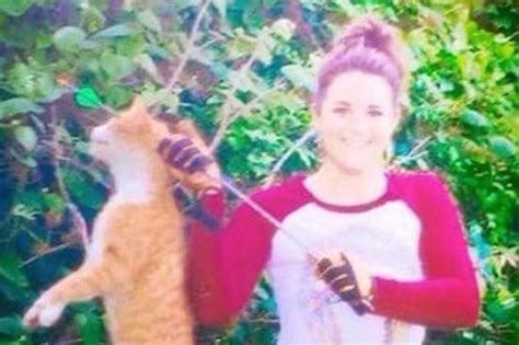 Kristen Lindsey Thousands Call For Justice After Vet Uses Bow And Arrow To Kill Cat Daily Star