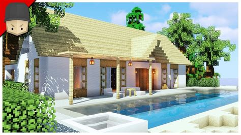 build  beach house  minecraft minecraft house
