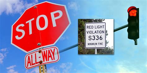 Running a Red Light Auto Insurance Increase