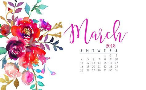 free march 2018 calendar for desktop and iphone march 2018 calendar wallpaper calendar 2018