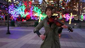 "Lindsey Stirling Plays ""Silent Night"" on Violin 